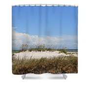 A View Of The Dunes Shower Curtain