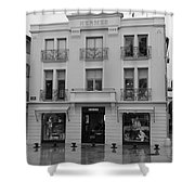 A View On Hermes Saint Tropez Shower Curtain