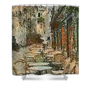 A View On The Sacre Coeur Shower Curtain