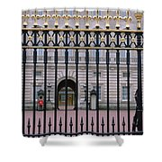 A View Through The Gates At Buckingham Shower Curtain