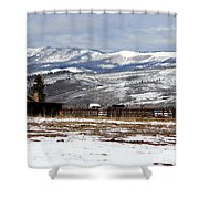 A View To Remember Shower Curtain