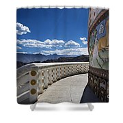 Spiritual Journey.. Shower Curtain