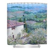 A Villa In Tuscany Shower Curtain