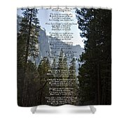 A Walk Among The Trees  Shower Curtain