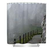 A Walk In The Clouds Shower Curtain