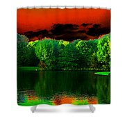 A Walk In The Park 1 Shower Curtain