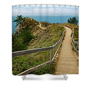 A Walk In The Wind Shower Curtain