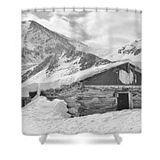 A Walk Into History Shower Curtain