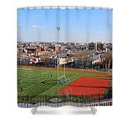 A Washington View From Cardoza High School Shower Curtain