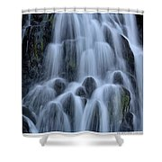 A Waterfall In Iceland Shower Curtain