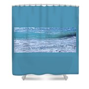 A Wave From Bermuda # 1 Shower Curtain
