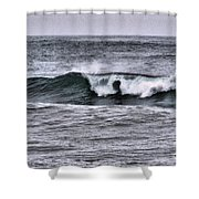 A Wave On The Ocean Shower Curtain
