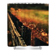 A Weary Sunrise Shower Curtain