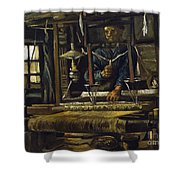 A Weavers Cottage Shower Curtain