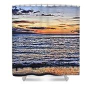 A Western Maui Sunset Shower Curtain
