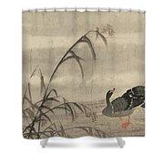A Wild Goose Shower Curtain