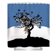 A Will To Live Shower Curtain by David Lee Thompson