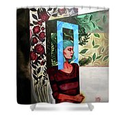 A Window Of Mind Shower Curtain