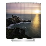 A Window On The Sea Shower Curtain