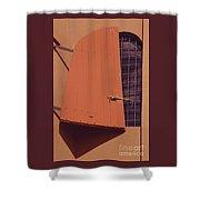 A Window With Shutter, Tortola Shower Curtain
