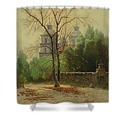 A Winter Day Shower Curtain