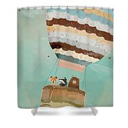A Wondrous Little Adventure Shower Curtain