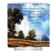 A Word Of Hope Shower Curtain