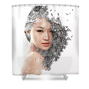 A World Within Me Shower Curtain