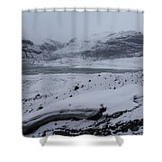 A World Without Colour Shower Curtain