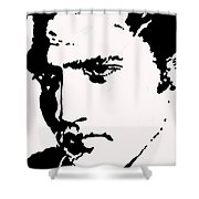 A Young Elvis Shower Curtain