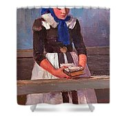 A Young Girl Shower Curtain