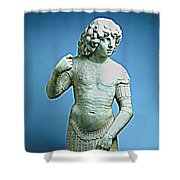 A Young Warrior, Tullio Lombardo Poster 2 Shower Curtain