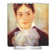 A Young Woman 1875 Shower Curtain