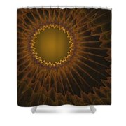 a044 Sunny Side Of The Galaxy Shower Curtain