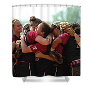 A10 Victory Celebration Shower Curtain