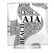 A1A Shower Curtain