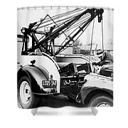 Aaa Tow Truck Shower Curtain