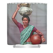 Aadibasi Shower Curtain