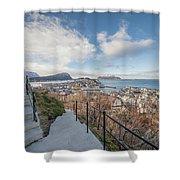 Aalesund City Shower Curtain