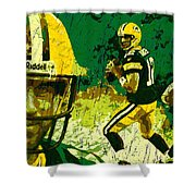 Aaron Rodgers 2015 Shower Curtain