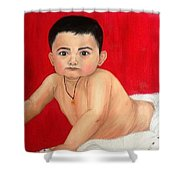 Aaryan Shower Curtain