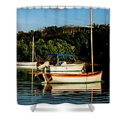 Abacos Quiet Shower Curtain
