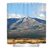 Abajo Mountains Utah Shower Curtain
