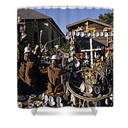 Abalone Shell House Shower Curtain