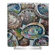 Abalone Shells Shower Curtain