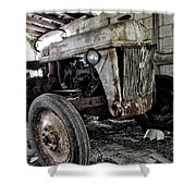 Abanded Tractor 3 Shower Curtain