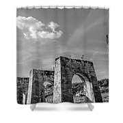 Abandonded Trestle Shower Curtain