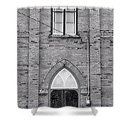 Abandoned Church Shower Curtain