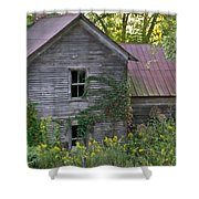 Abandoned Farmhouse On Stacy Fork Shower Curtain