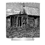 Abandoned Farmhouse Shower Curtain